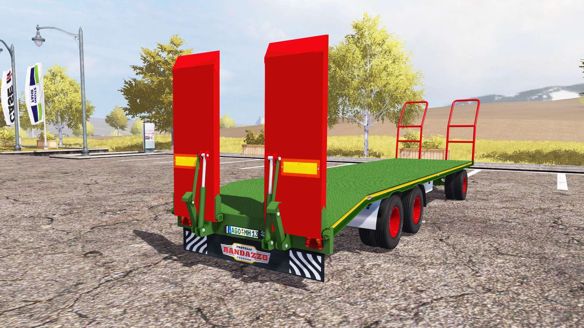 Rimorchi randazzo pa 97 i v1 1 for farming simulator 2013 for Rimorchi randazzo