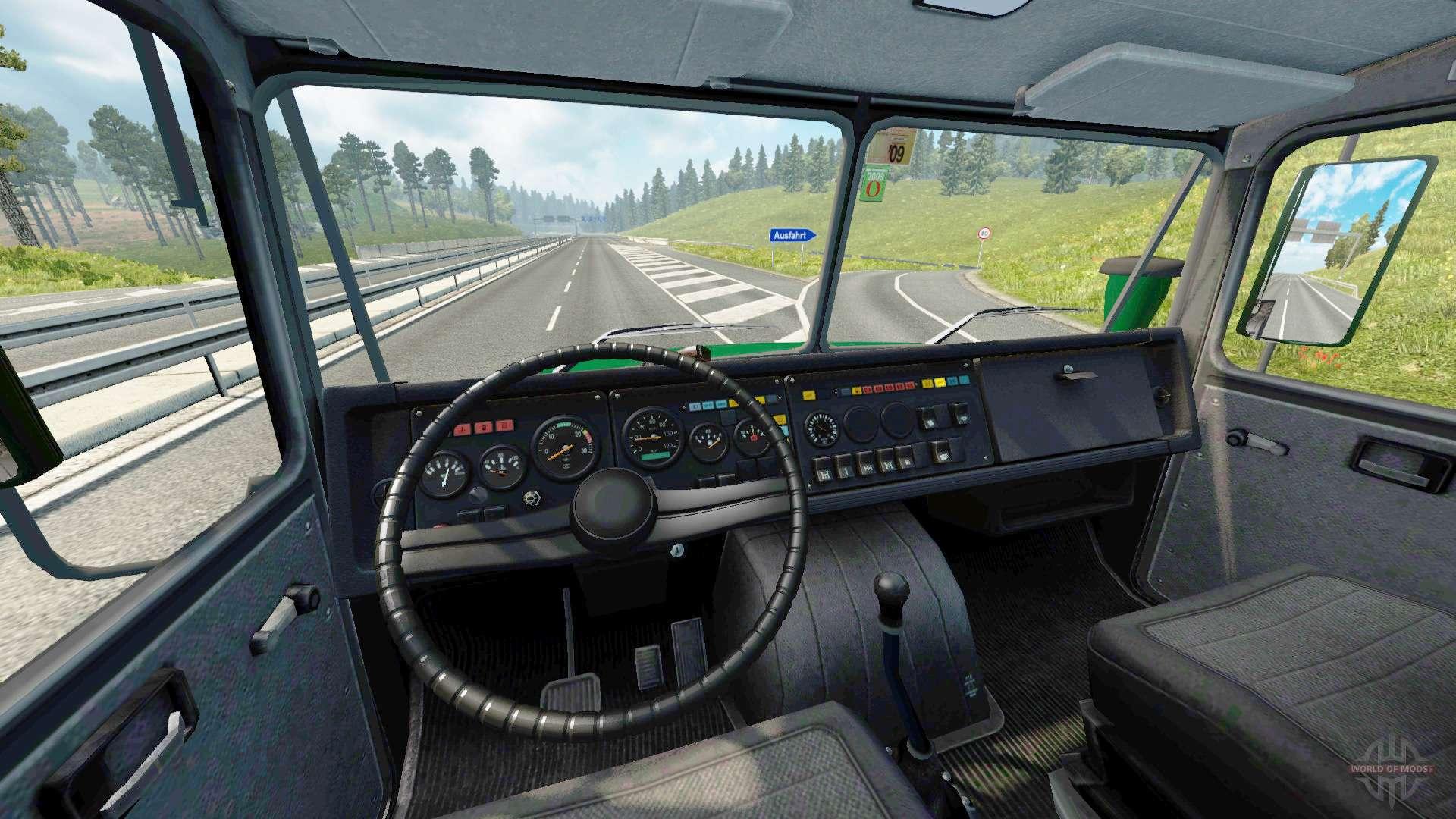 ural 43202 v3 3 for euro truck simulator 2. Black Bedroom Furniture Sets. Home Design Ideas