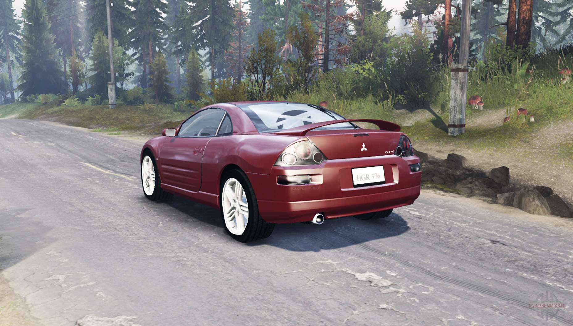 Spintires on 03 Mitsubishi Eclipse 3 0 Engine