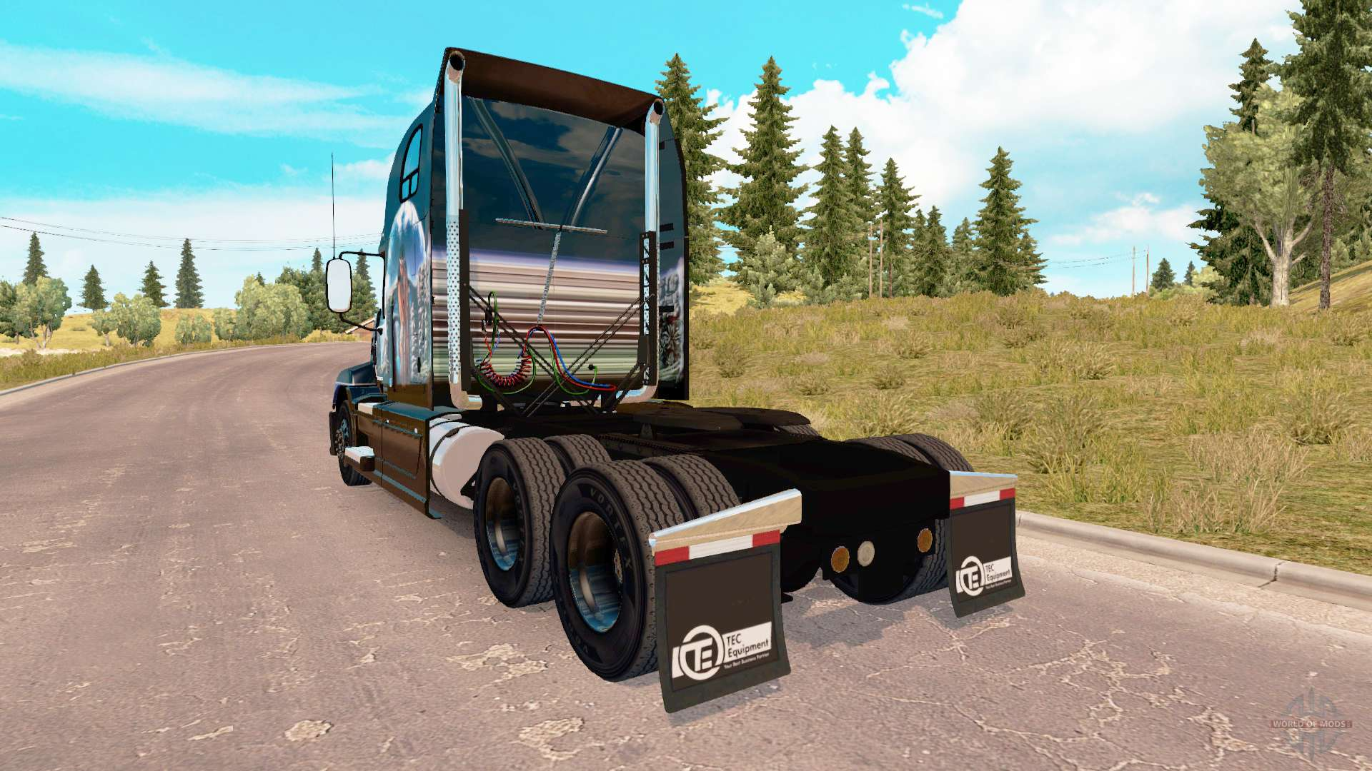 Mack Truck Fertilizer : Skin indian summer on the mack pinnacle tractor for