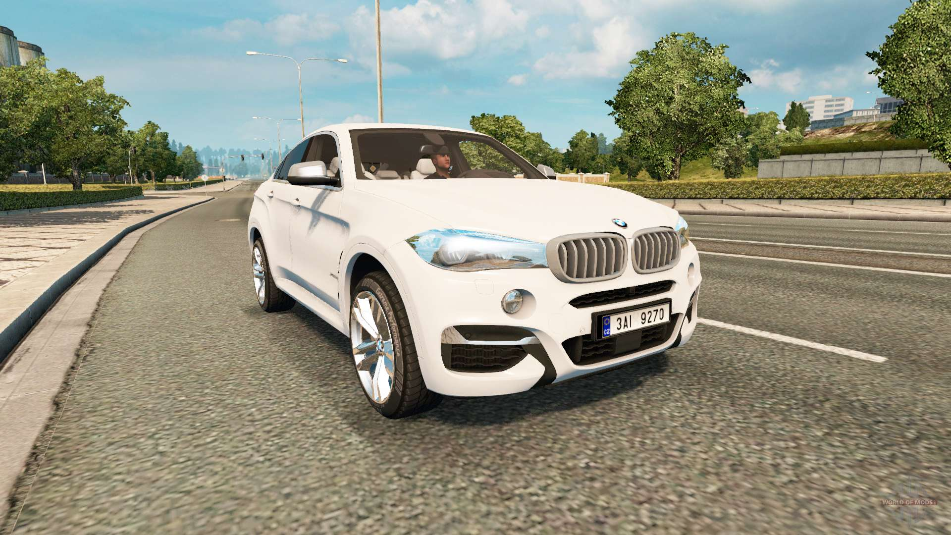 Bmw X6 M50d F16 V2 0 For Euro Truck Simulator 2