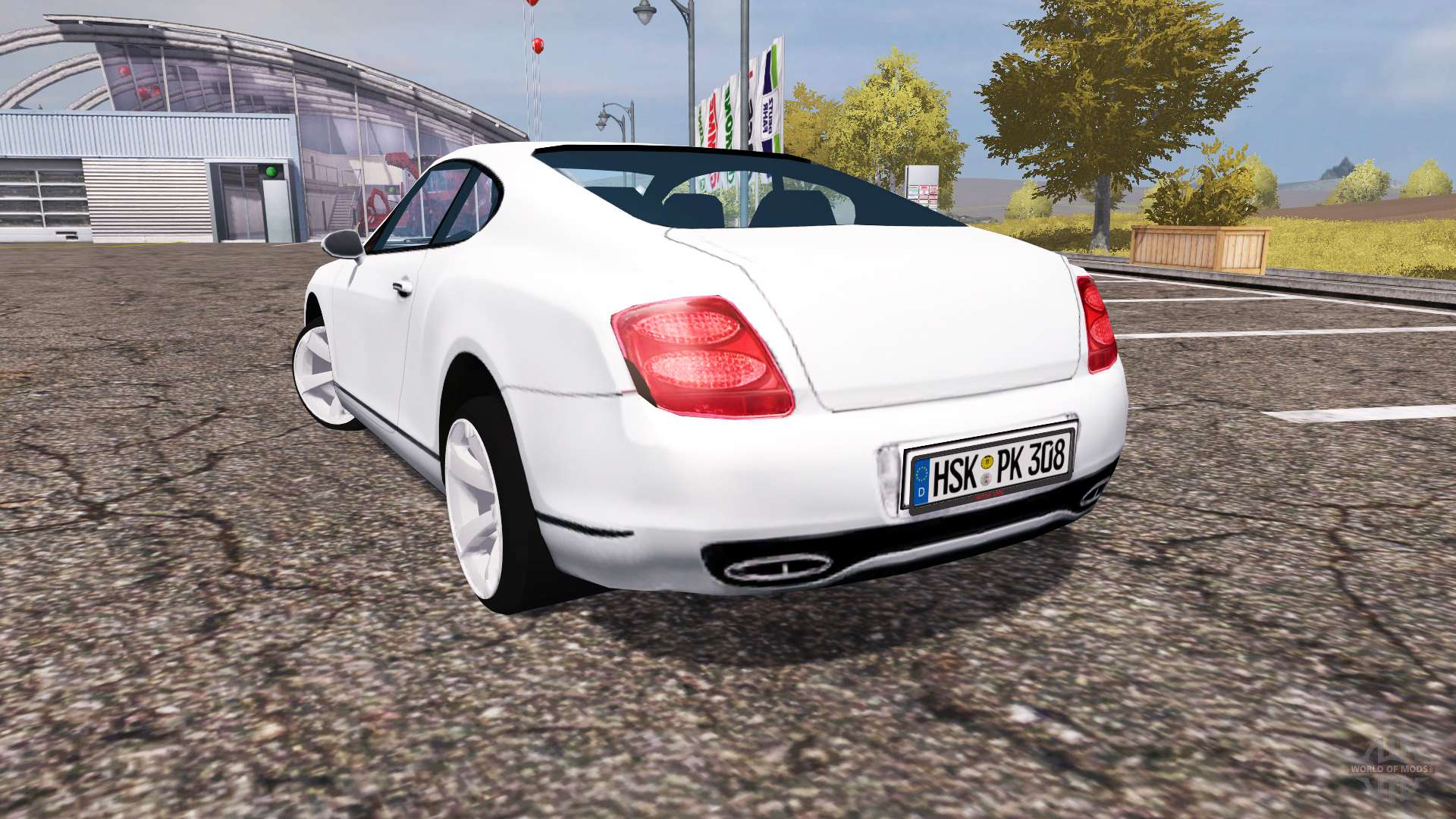 Bentley Continental Gt Supersports For Farming Simulator 2013