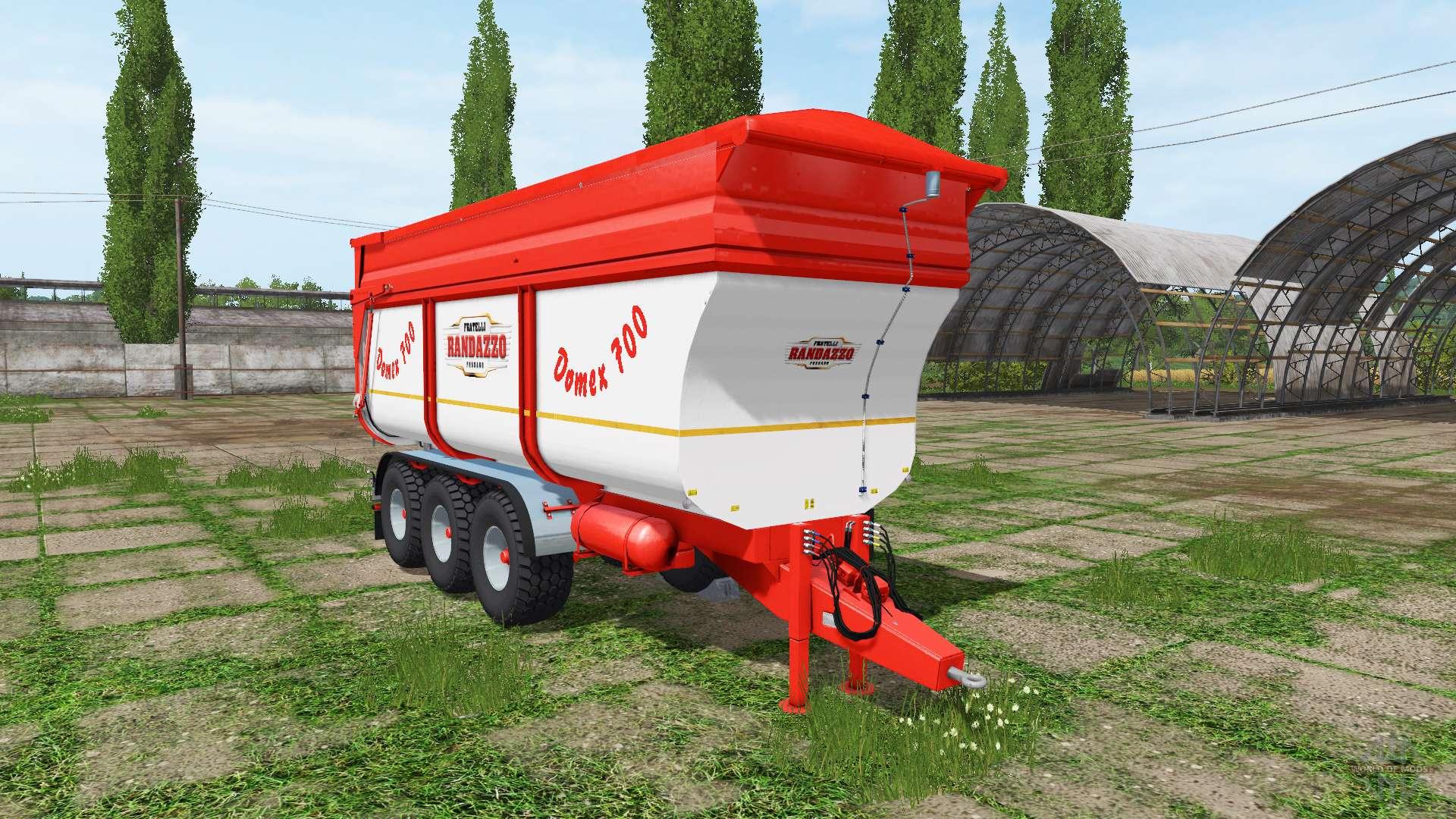 Rimorchi randazzo tr70 v1 0 1 3 for farming simulator 2017 for Rimorchi randazzo