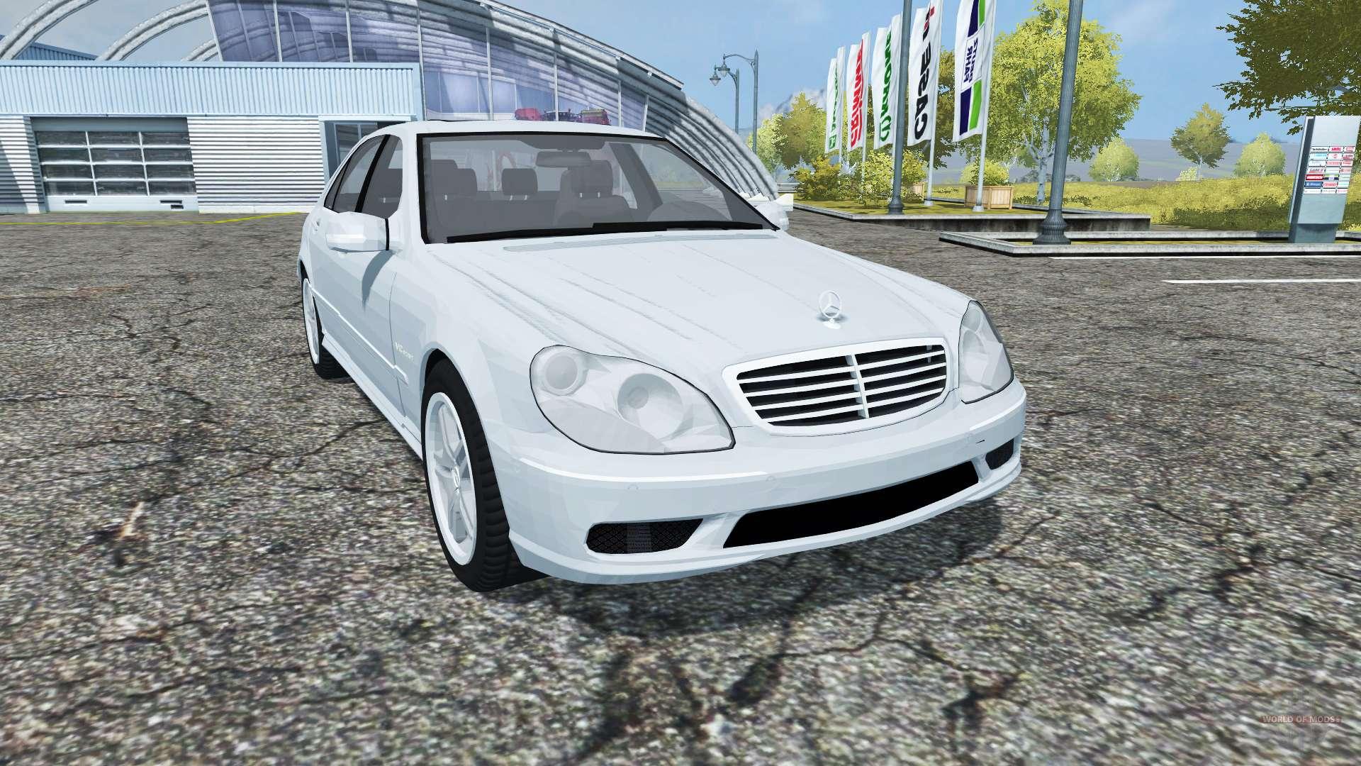 Mercedes benz s65 amg v12 biturbo w220 2005 for farming for V12 mercedes benz