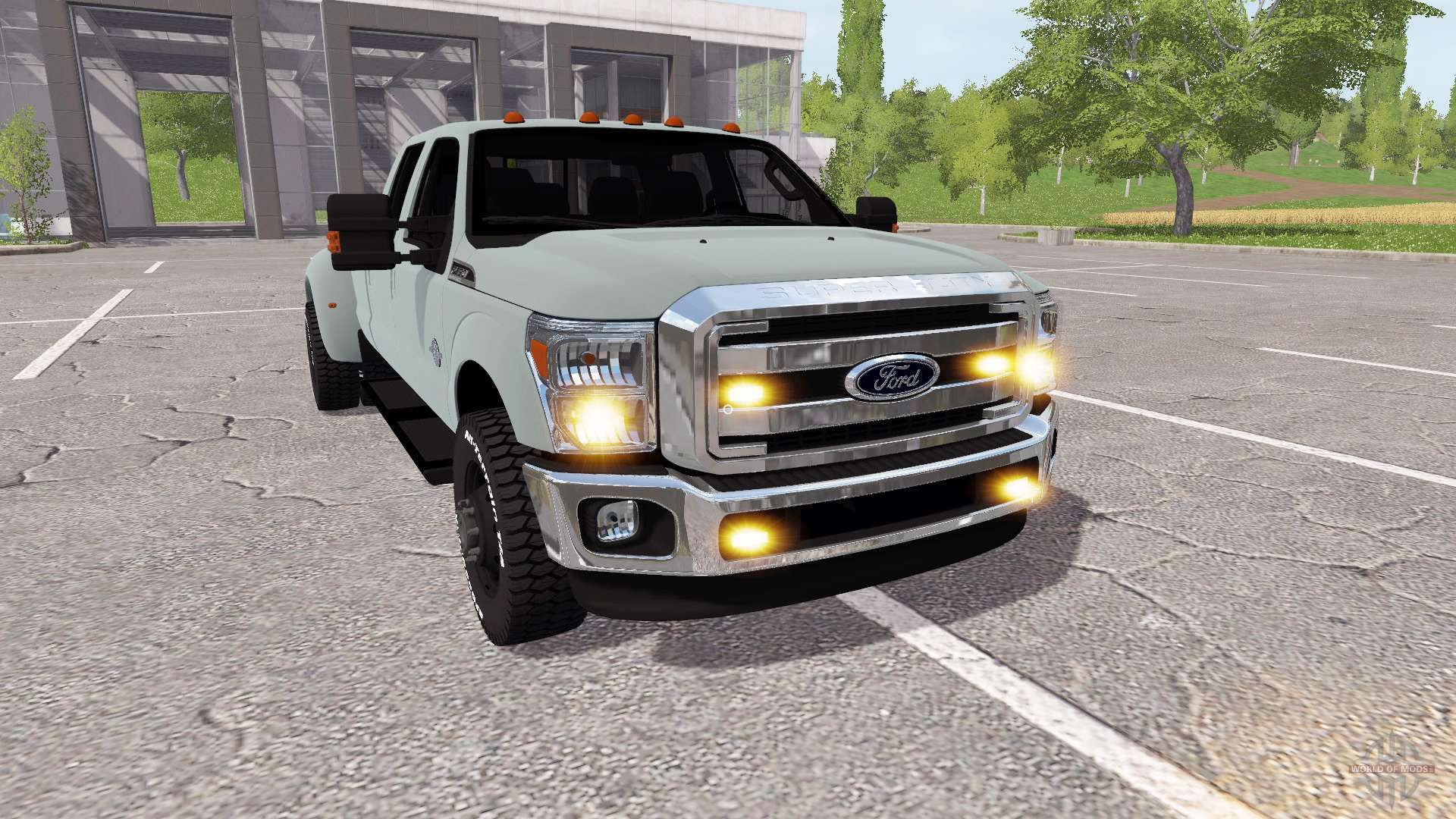 ford f 350 super duty v1 2 for farming simulator 2017. Black Bedroom Furniture Sets. Home Design Ideas