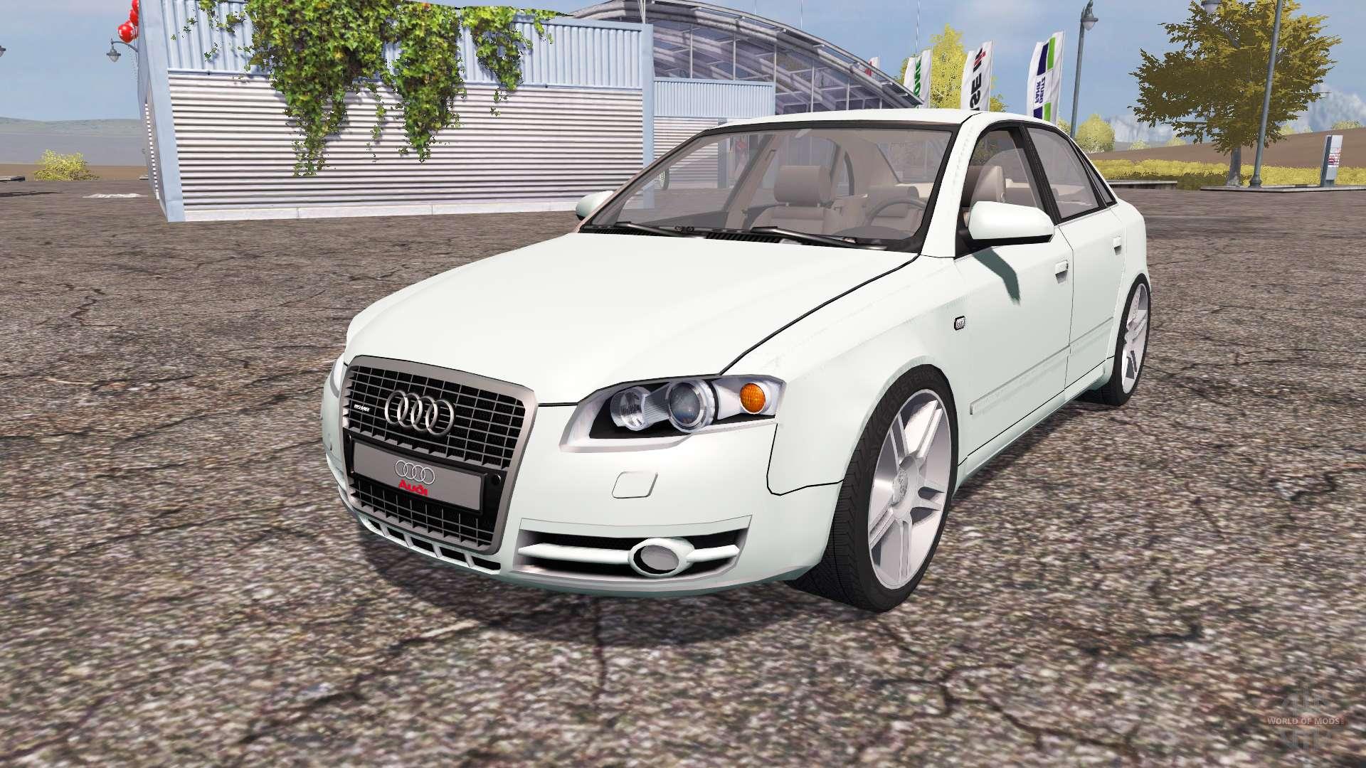 Audi A4 30 Tdi Quattro B7 For Farming Simulator 2013