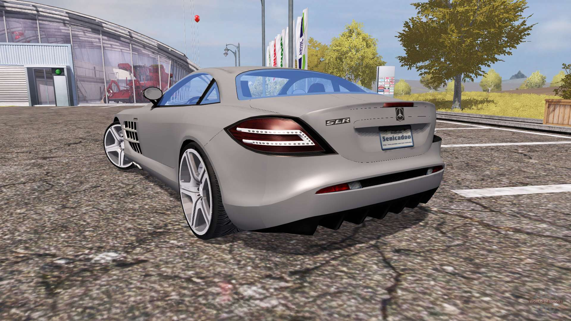 Mercedes benz slr mclaren c199 for farming simulator 2013 for Mercedes benz slr