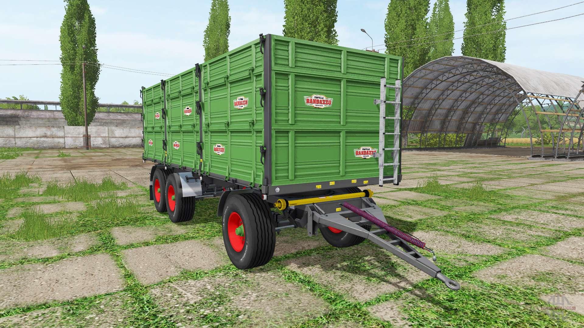 Rimorchi randazzo r270 pt v1 0 1 3 for farming simulator 2017 for Rimorchi randazzo