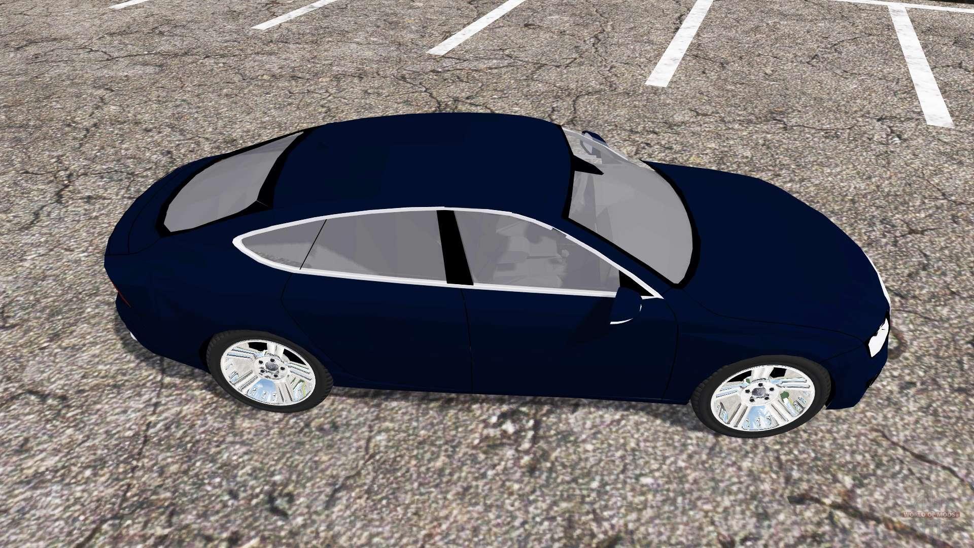 Audi A7 Sportback Quattro For Farming Simulator 2013