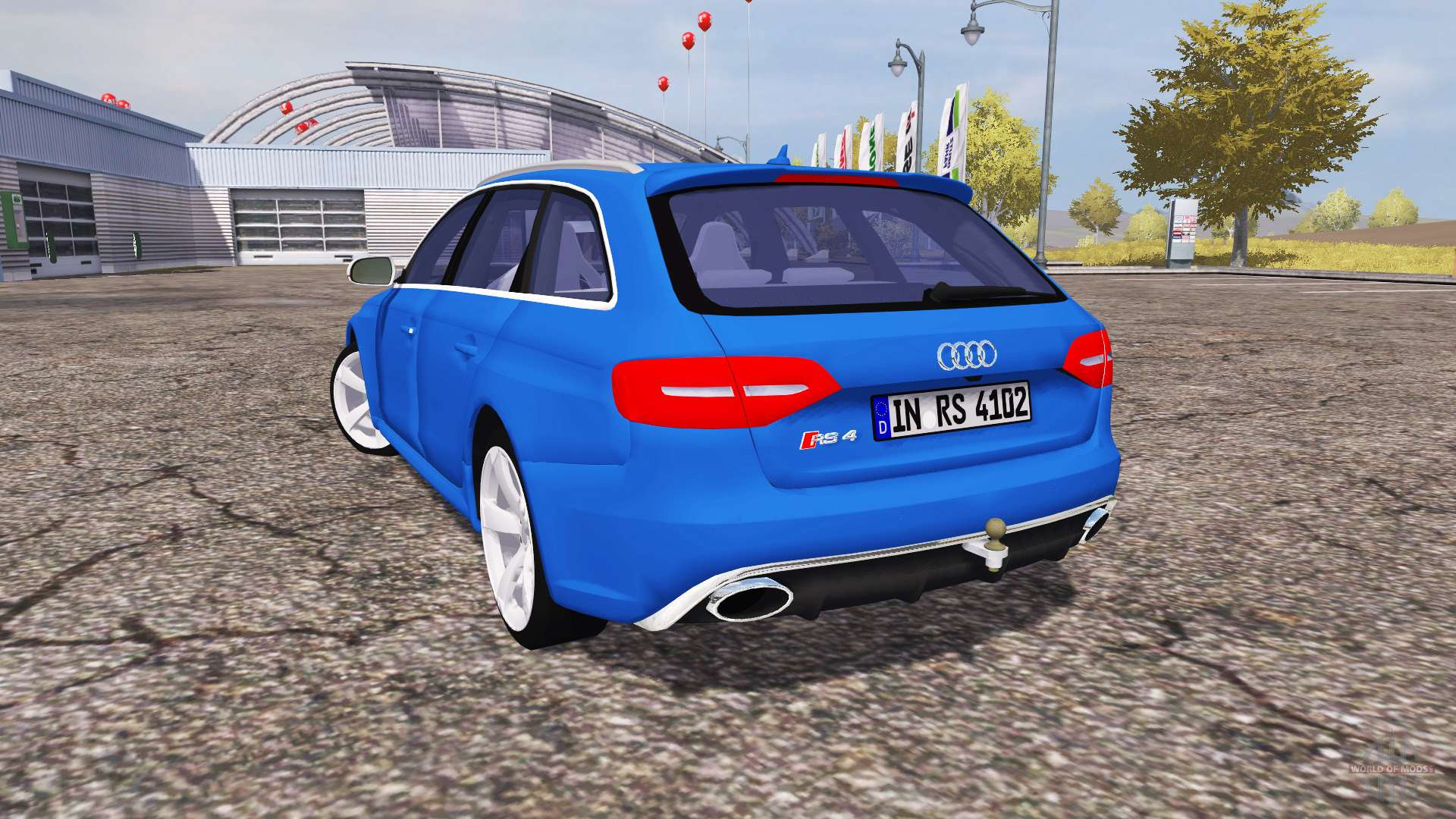 audi rs4 avant b8 for farming simulator 2013. Black Bedroom Furniture Sets. Home Design Ideas
