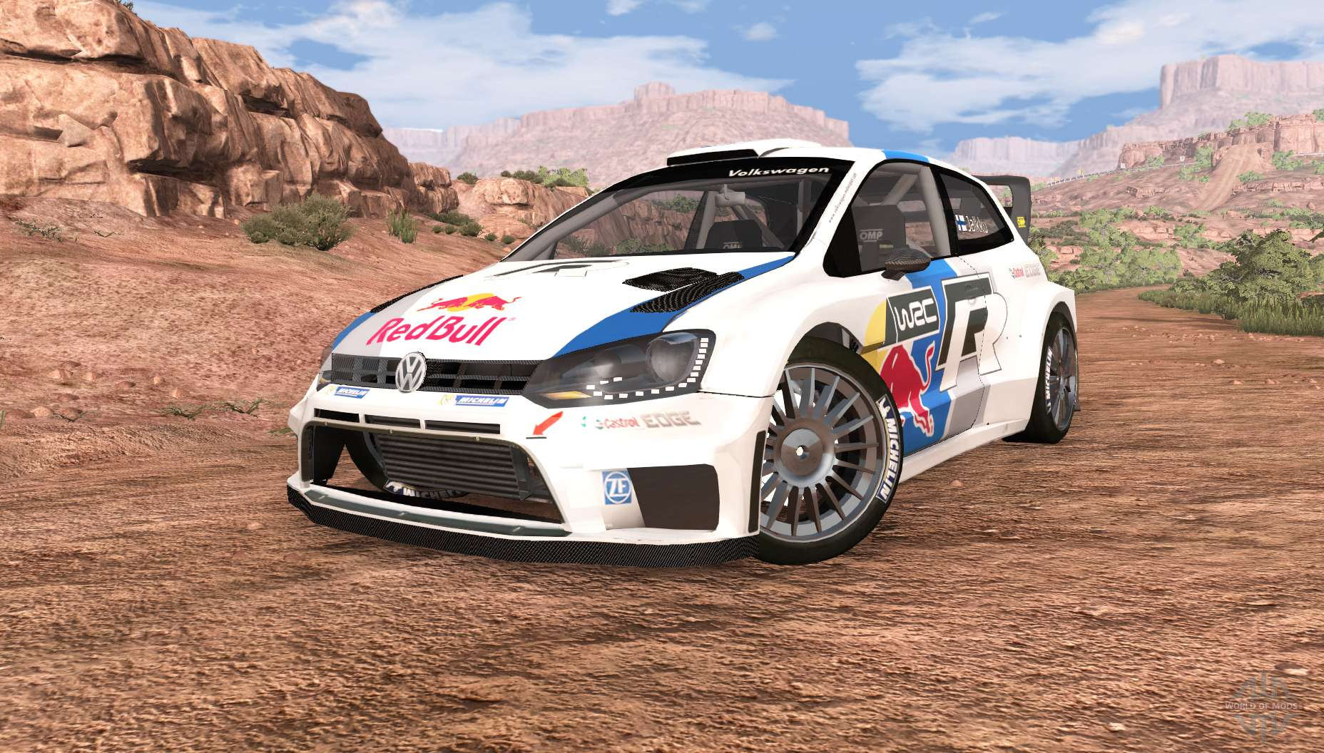 volkswagen polo r wrc v2 0 for beamng drive. Black Bedroom Furniture Sets. Home Design Ideas