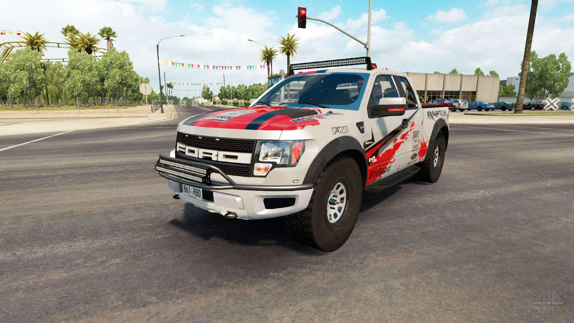 eaefb216d2 Ford F-150 SVT Raptor v2.2 for American Truck Simulator