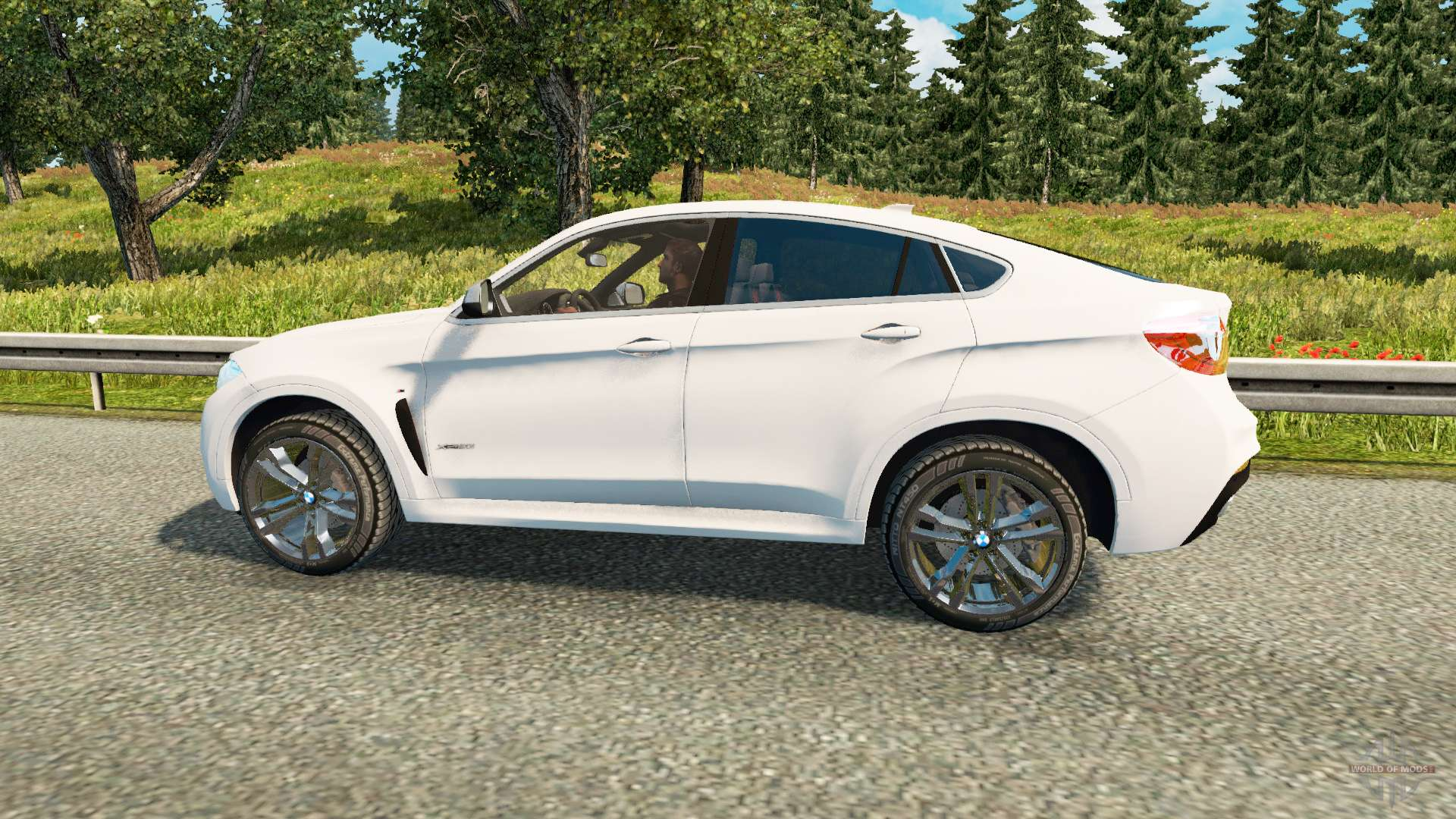 Bmw X6 M50d F16 For Euro Truck Simulator 2