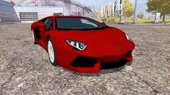 Lamborghini Aventador LP 700-4 (LB834) for Farming Simulator 2013