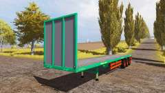 Aguas-Tenias bale semitrailer for Farming Simulator 2013