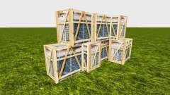 Cargo box stack