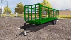Straw trailer for Farming Simulator 2013