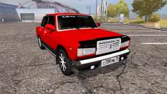 VAZ 2107 Lada for Farming Simulator 2013
