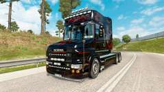 Predator skin for truck Scania T-series