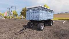 Livestock trailer v3.0 for Farming Simulator 2013