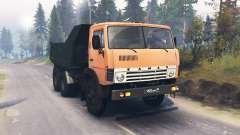 KamAZ 55111 for Spin Tires