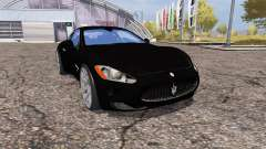 Maserati GranTurismo S for Farming Simulator 2013