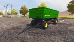 John Deere trailer for Farming Simulator 2013