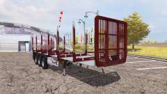 Fliegl timber trailer for Farming Simulator 2013