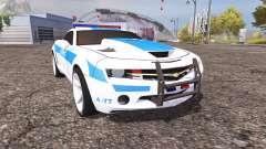 Chevrolet Camaro Police v2.0 for Farming Simulator 2013
