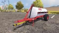 Tank manure v2.0 for Farming Simulator 2013