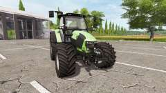 Deutz-Fahr 5110 TTV v4.0 for Farming Simulator 2017