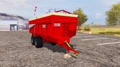 Alein tipper trailer