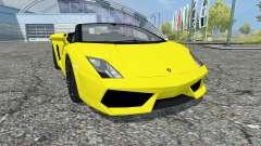 Lamborghini Gallardo LP 560-4 Spyder 2009 for Farming Simulator 2013