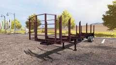 Timber semitrailer for Farming Simulator 2013
