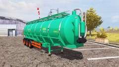 Aguas-Tenias tank manure