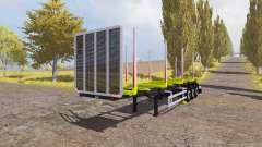 Riedler-Anhanger timber semitrailer v1.1 for Farming Simulator 2013