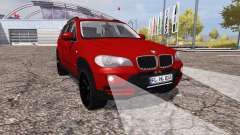 BMW X5 4.8i (E70) for Farming Simulator 2013