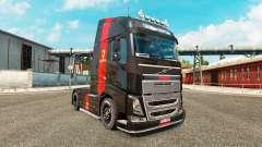 Ferrari skin for Volvo truck
