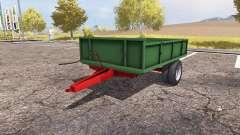 Tractor trailer v1.2 for Farming Simulator 2013