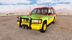 Gavril Roamer Tour Car Jurassic Park for BeamNG Drive