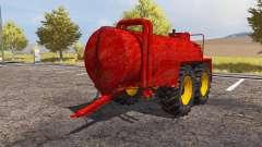 Teko manure spreader for Farming Simulator 2013