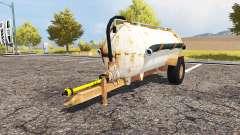 Rusty slurry tanker for Farming Simulator 2013