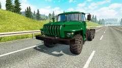 Ural 43202 v3.3 for Euro Truck Simulator 2