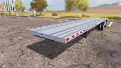 Manac flatbed trailer for Farming Simulator 2013