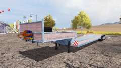 Low loader big for Farming Simulator 2013