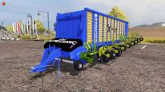 Krone ZX 550 GD rake ArtMechanic v3.5 for Farming Simulator 2013