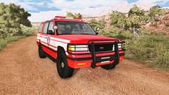 Gavril Roamer DeWitt NY Fire Department Squad for BeamNG Drive