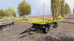 Riedler-Anhanger timber trailer for Farming Simulator 2013