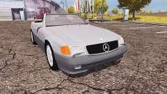 Mercedes-Benz 500 SL (R129) for Farming Simulator 2013