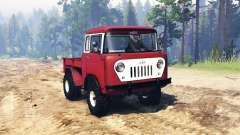 Jeep FC-150 for Spin Tires